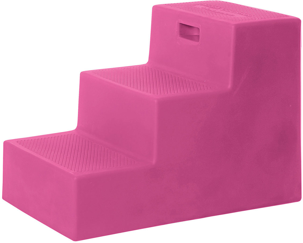 High Country Plastics 3 Step Mounting Block in Pink