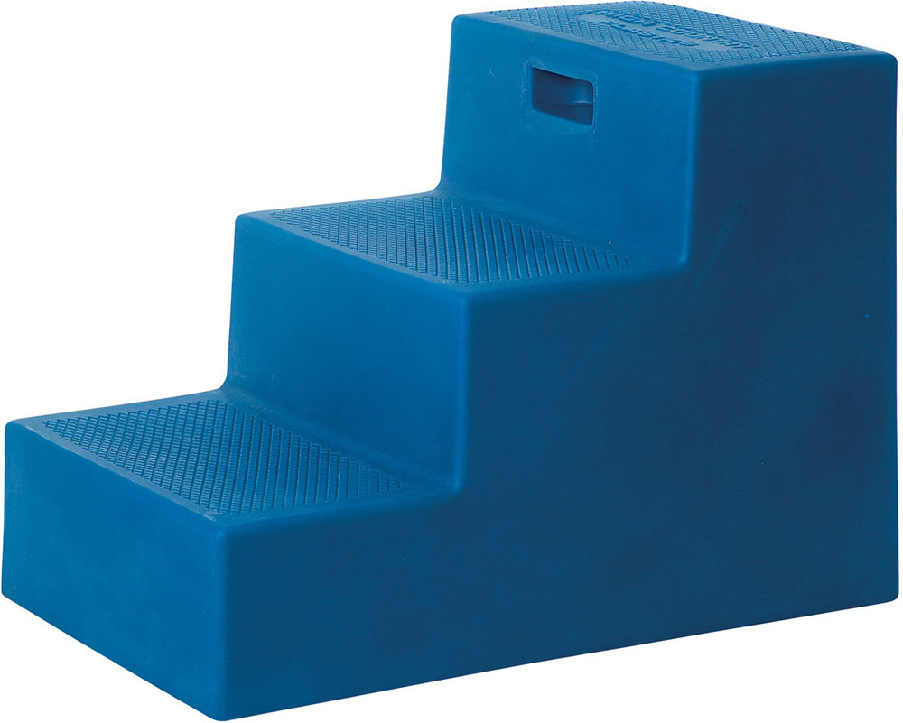 High Country Plastics 3 Step Mounting Block in Blue