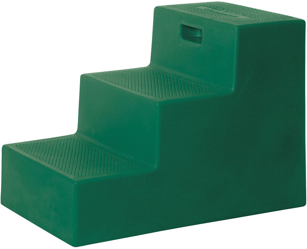 High Country Plastics 3 Step Mounting Block in Green