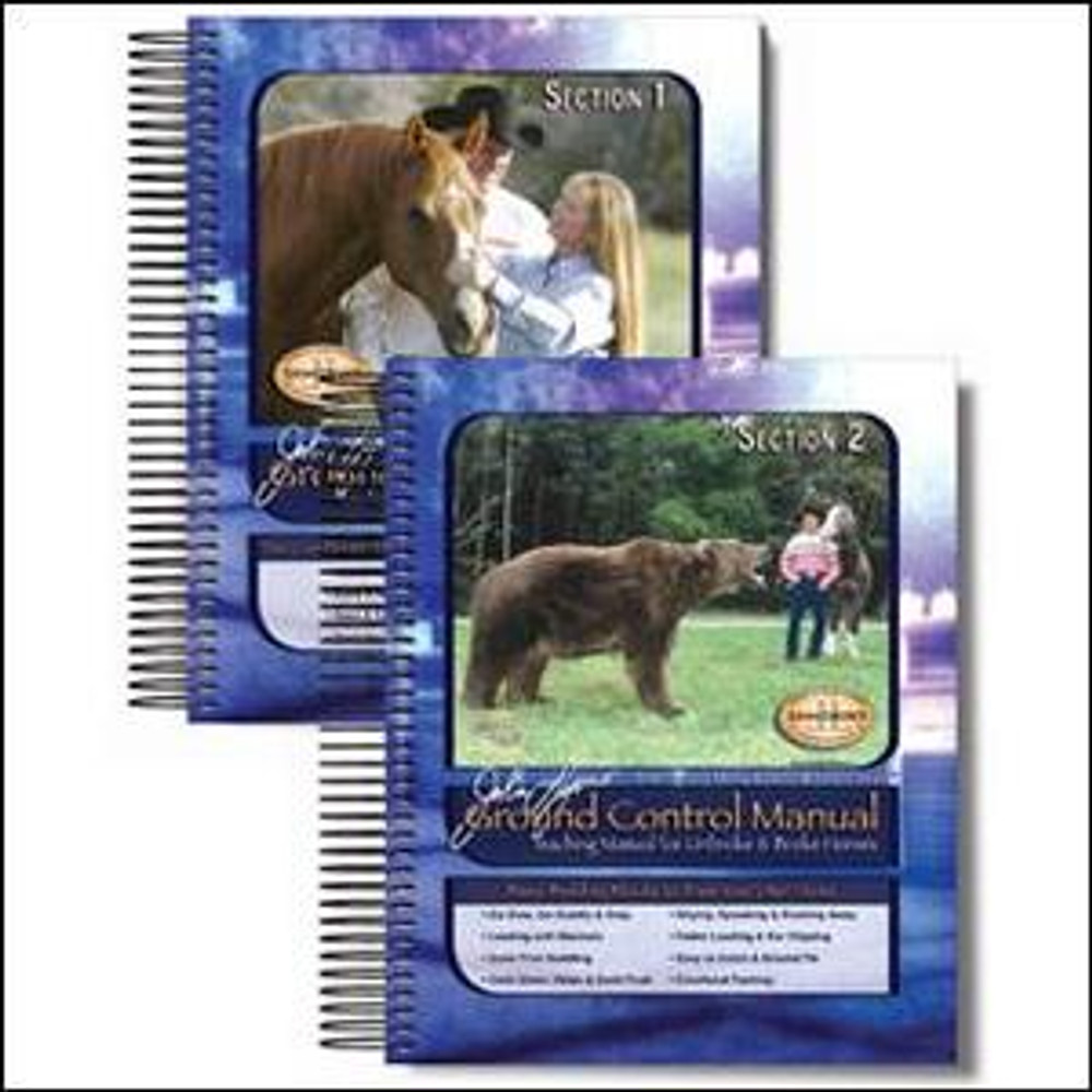 John Lyons Ground Control Manual is the starting point for training any horse and provides the core principles to teach your horse confidence, control, and respect.  This step-by-step instructional book is a must have for any horse owner wanting more from their horse.