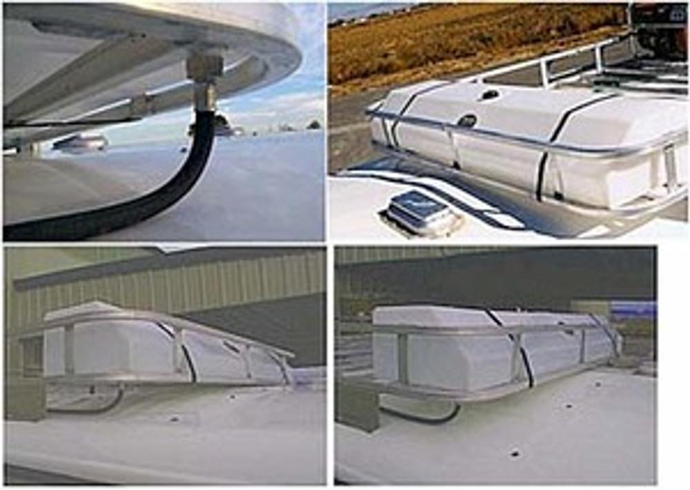 High Country Plastics 35 Gallon Hay Rack Water Caddy.