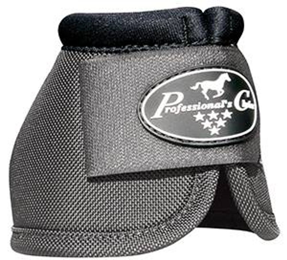Professional's Choice Ballistic Overreach Bell Boots - CHARCOAL