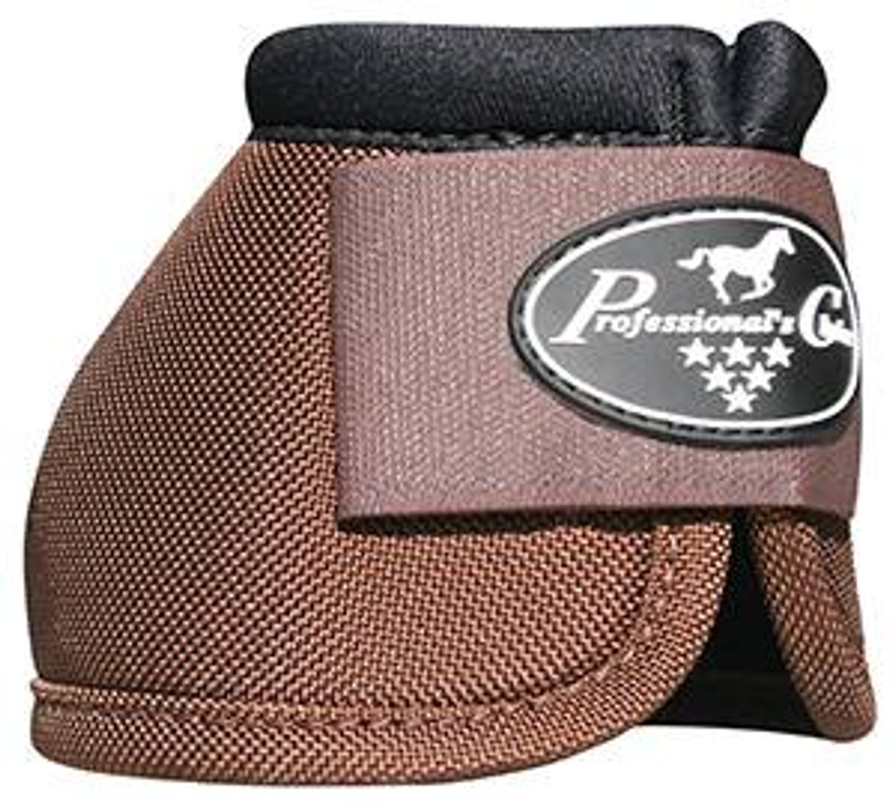 Professional's Choice Ballistic Overreach Bell Boots - CHOCOLATE