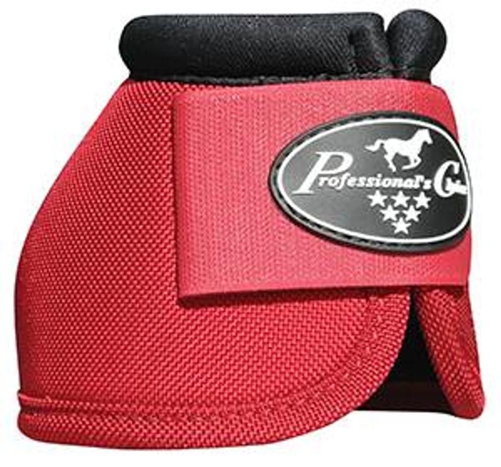 Professional's Choice Ballistic Overreach Bell Boots - CRIMSON RED