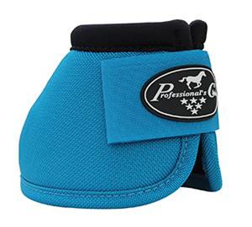 Professional's Choice Ballistic Overreach Bell Boots - PACIFIC BLUE