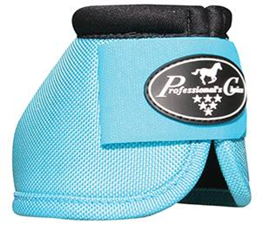 Professional's Choice Ballistic Overreach Bell Boots - TURQUOISE
