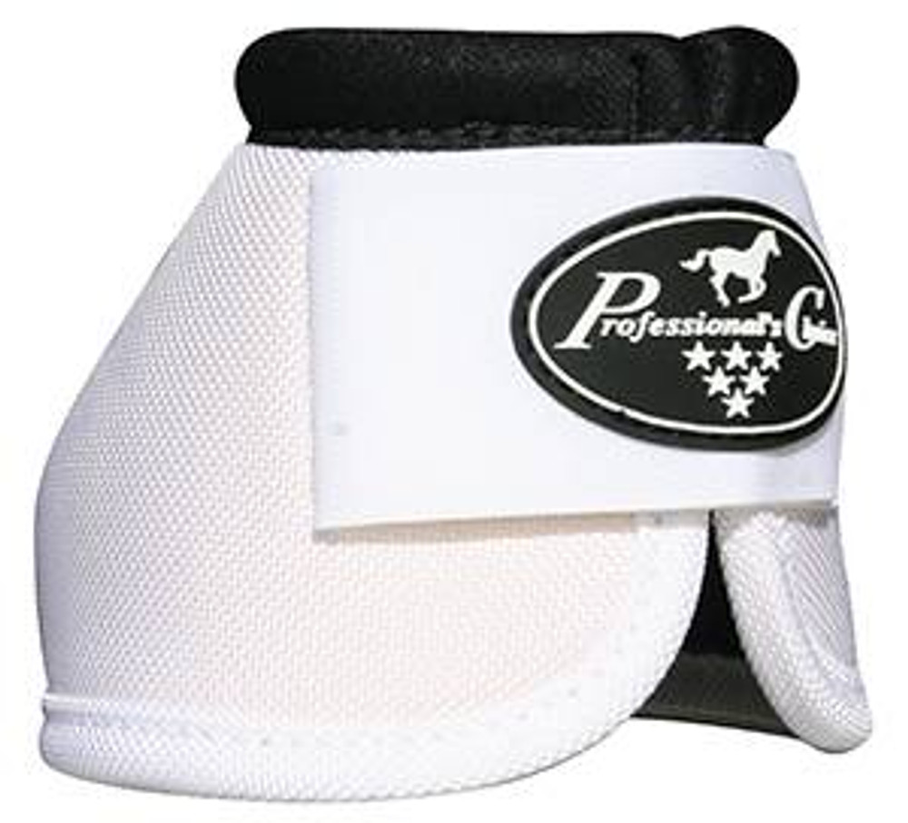 Professional's Choice Ballistic Overreach Bell Boots - WHITE