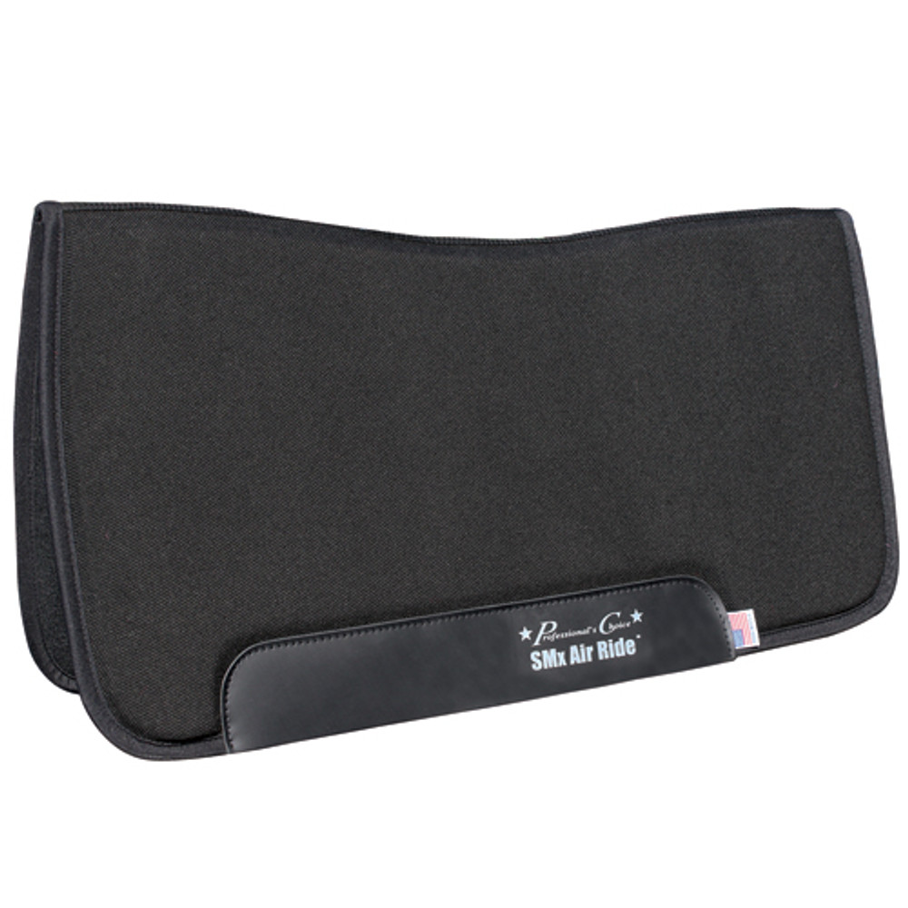 Professional's Choice All Around Air Ride Pad Black Felt