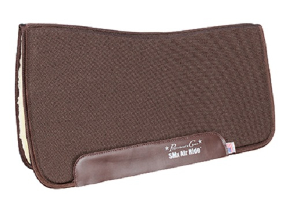 Professional's Choice All Around Air Ride Pad Brown Fleece