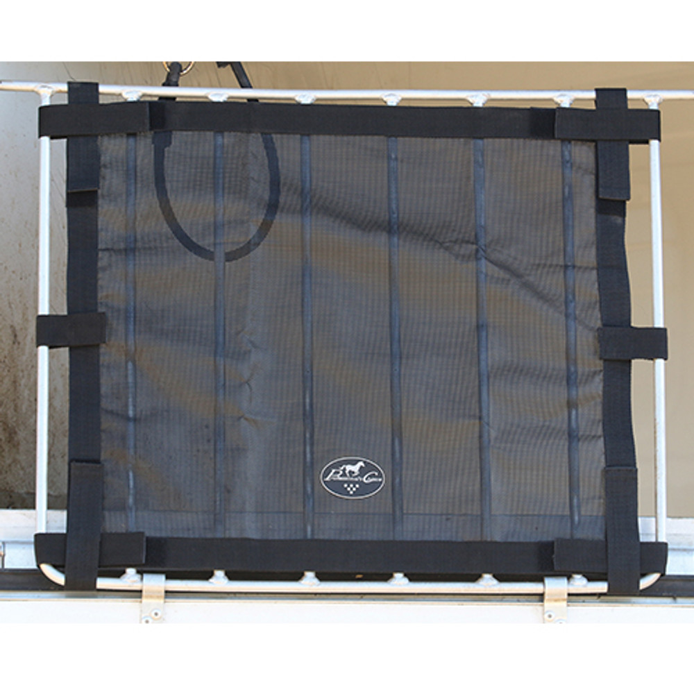 Professional's Choice Bar Window Screen; made for trailers with drop down windows having vertical bars.