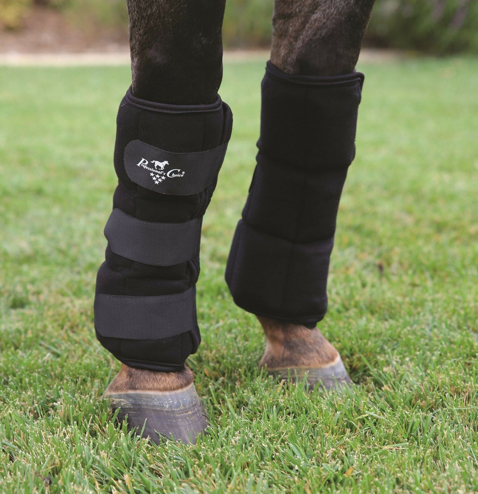 Professional's Choice Ice boots with freezable and reusable gel pockets.  Standard Size.