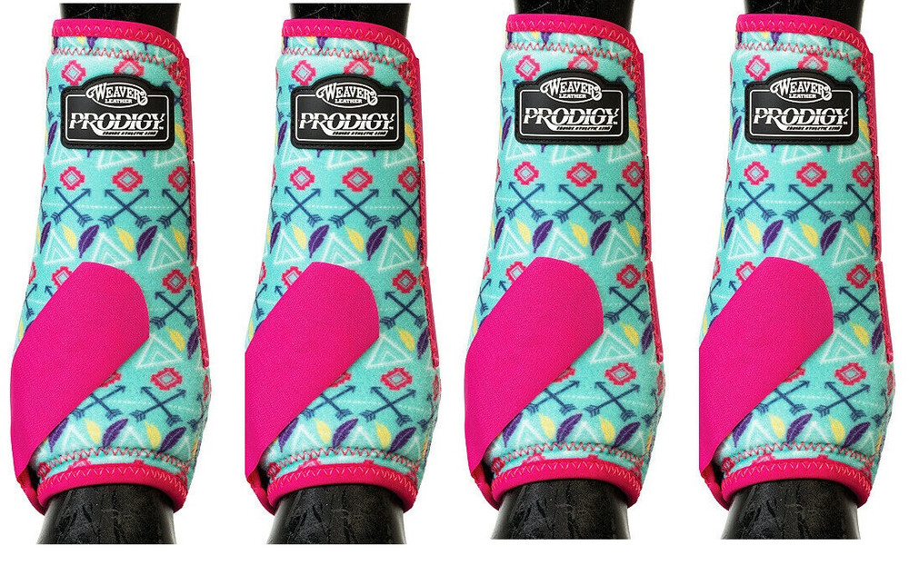 The Weaver high-performance athletic boots are engineered with a Dynamic Sling System that provides superior support and protection to the suspensory tendons and ligaments.  Color -- Tribal.