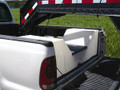High Country Plastics 63 gallon pickup bed water caddy.  Great for 5th wheel RVs, Horse Trailers, Livestock trailers.