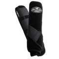 Professional's Choice Ventech Elite Value Pack in Black.  The value combo pack includes both the front and rear Professional's Choice Ventech Elite Boots at a discounted price.