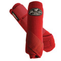 Professional's Choice Ventech Elite Value Pack in Crimson Red.  The value combo pack includes both the front and rear Professional's Choice Ventech Elite Boots at a discounted price.