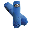 Professional's Choice Ventech Elite Value Pack in Royal Blue.  The value combo pack includes both the front and rear Professional's Choice Ventech Elite Boots at a discounted price.