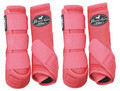 Professional's Choice Ventech Elite Value Pack in Melon.  The value combo pack includes both the front and rear Professional's Choice Ventech Elite Boots at a discounted price.