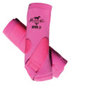 Professional's Choice SMBII Sport Medicine Boots in pink.