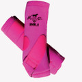 Professional's Choice SMBII Sport Medicine Boots in raspberry.