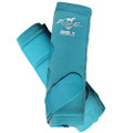 Professional's Choice SMBII Sport Medicine Boots in turquoise.