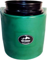 High Country Plastics Insulated Water Bucket Holder, Bucket, and float; when being used can keep water from freezing down to 15 degrees. Green