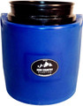 High Country Plastics Insulated Water Bucket Holder, Bucket, and float; when being used can keep water from freezing down to 15 degrees. Blue