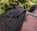 Cashel small horn saddle bag; pommel bag black
