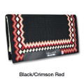 Professional's Choice Shilloh pad in Black / Crimson