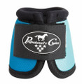 Professional's Choice Ballistic Overreach Bell Boots - TURQUOISE / ROYAL BLUE (note the color is called Royal but it is more Pacific Blue)