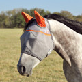 Cashel Crusader Premium Fly Mask in Standard with Ears Style; color Orange