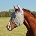 Cashel Crusader Premium Fly Mask in Standard with Ears Style; color Pink