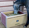 High Country Plastics Slow Feeder Saver Box is one of the best ways to keep your horse healthy by regulating feed the way Mother Nature designed the horse's digestive system to work.  Saves money by reducing feed waste and vet bills.