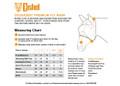 Cashel Crusader Fly Mask Sizing Chart