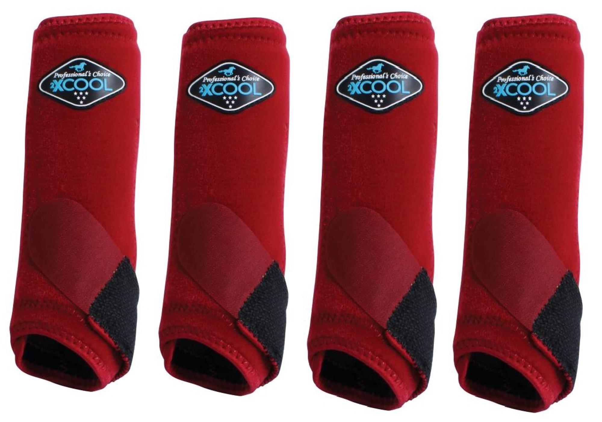 Details about  /Professionals Choice Brrr 2XCOOL Value 4 Pack Crimson Red  M Prof Pro SMB Boots