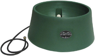 Green High Country Plastics Auto Water Basin; 15 gallons