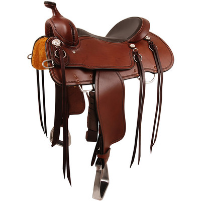 Cashel Trail Blazer Saddle in Chocolate.