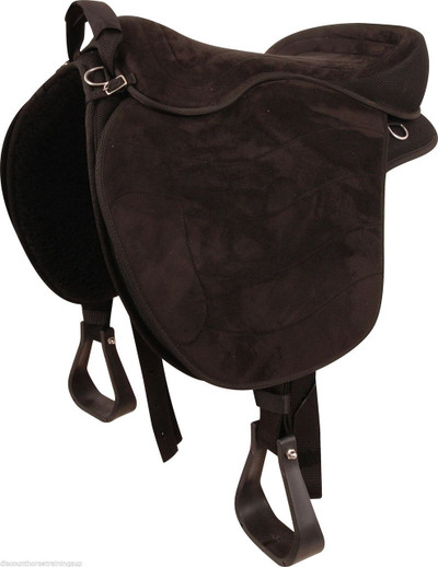 Cashel Soft Saddle G2; the perfect compromise between a saddle an bareback pad.