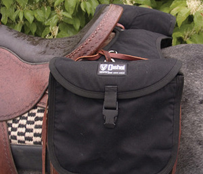 Cashel Standard Rear Saddle Bag in black