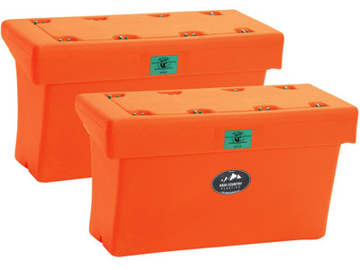 High Country Plastics Bear Box; orange.  IGBC Certified Bear-Resistant Container