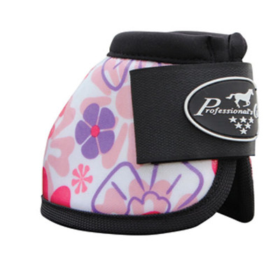 Professional's Choice Secure Fit Overreach bell boots Daisy - get them before they sell out.  These bells go well with most tack to add a little personality.