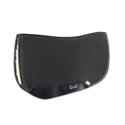Professional's Choice Air Rid Barrel Racing Pad Black Fleece