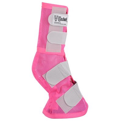 Cashel Fly Leg Guards in the new Pink color.