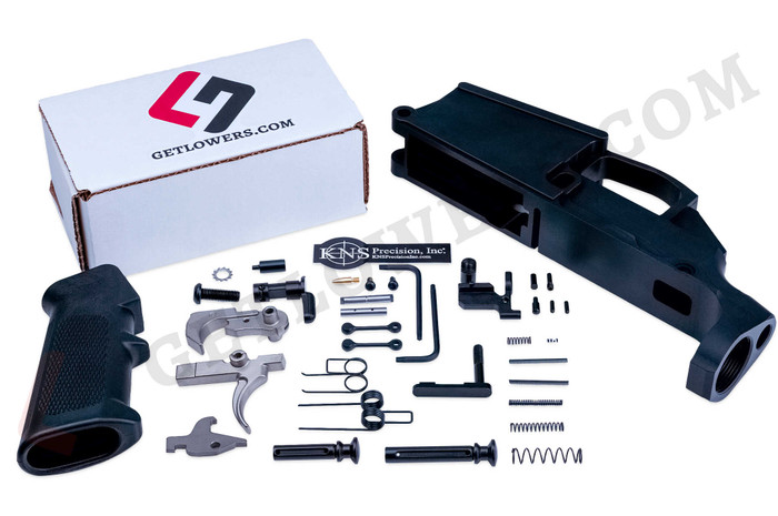 AR-10/ DPMS LR-308 80% Lower Receiver & 36-Piece Ultimate Lower Parts Kit