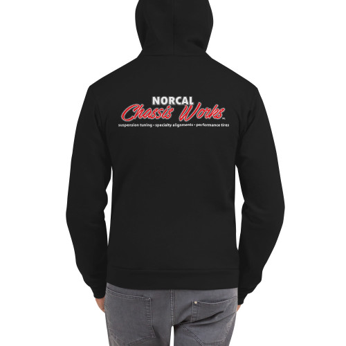 NorCal Chassis Works - Zip-Up Hoodie Sweater (Unisex 50/50)