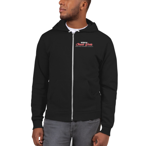 NorCal Chassis Works - Zip-Up Hoodie Sweater (Printed Unisex 50/50)