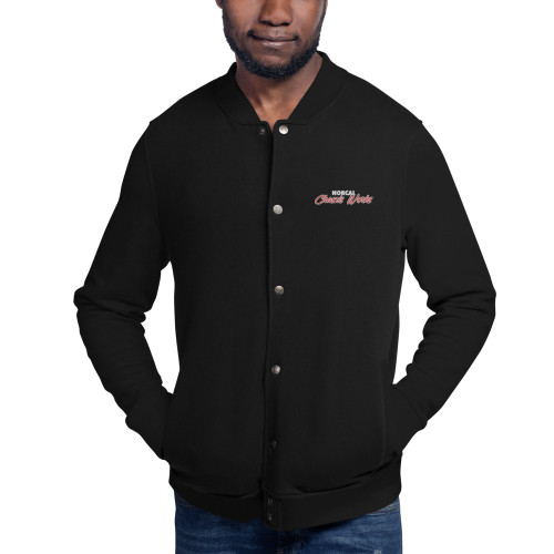 NorCal Chassis Works - Button-up Bomber Jacket, Champion Brand (Embroidered)