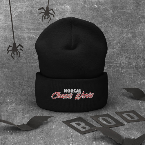 NorCal Chassis Works - Cuffed Beanie (Embroidered)
