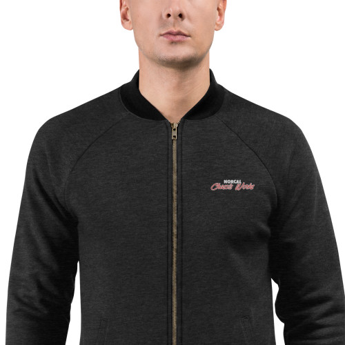 NorCal Chassis Works - Zip-up Bomber Jacket (Embroidered)