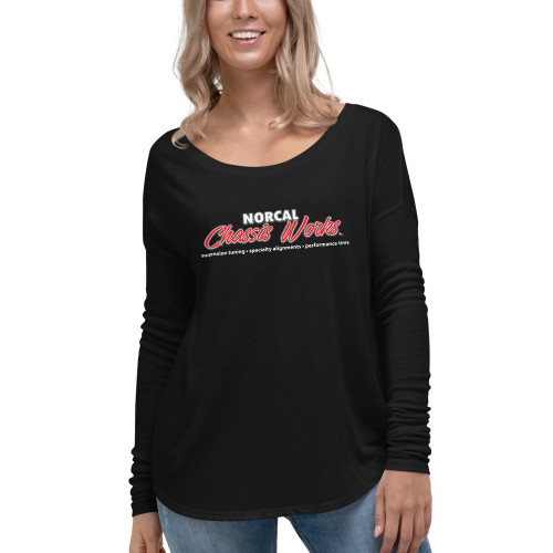 NorCal Chassis Works - Ladies' Long Sleeve Tee (Printed)