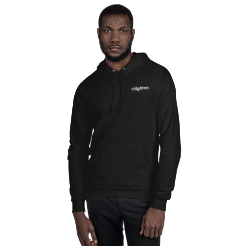 Daily Driven Motoring - Unisex Fleece Hoodie (Embroidered)